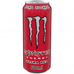 Monster Energy Ultra Red  (500 ml) - 5060337500609
