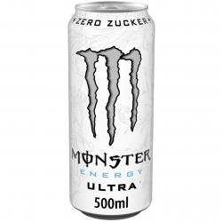 Monster Energy Ultra White  (500 ml) - 5060337500401