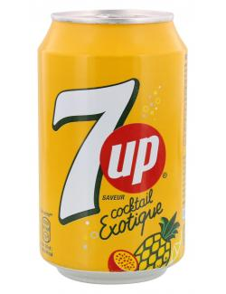 Seven up Cocktail Exotique  (330 ml) - 4260231222718