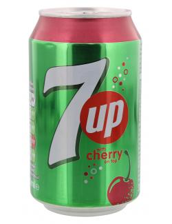 Seven up Cherry  (330 ml) - 4260231220103