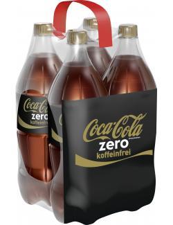 Coca Cola Zero Koffeinfrei  (4 x 1,50 l) - 5449000184283