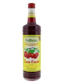 Wollbrink Saure Kirsche  (700 ml) - 4000999114128