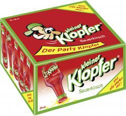 Kleiner Klopfer Sauerkirsch  (25 x 0,02 l) - 4029884011144