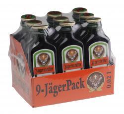 J�germeister 9-J�gerPack  (9 x 0,02 l) - 4067700091208