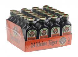 J�germeister 24 kleine J�ger  (24 x 0,02 l) - 4067700041098