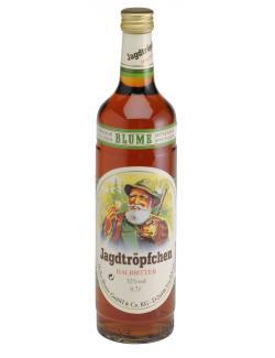 Heiko Blume Jagdtröpfchen halbbitter  (700 ml) - 4101040001814