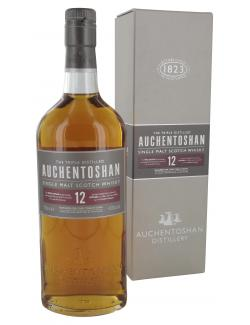 Auchentoshan 12 Years Single Malt Scotch Whisky 40% Vol.  (700 ml) -