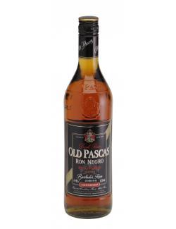 Old Pascas Ron Negro Barbardos Rum  (700 ml) - 4062400527101