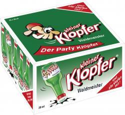Kleiner Klopfer Waldmeister  (25 x 0,02 l) - 4029884011199