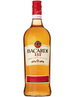 Bacardi 151� Puerto Rican Rum  (1 l) - 80480095307