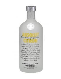 Absolut Vodka Citron  (700 ml) - 4005971665155