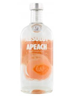 Absolut Vodka Apeach  (700 ml) - 7312040070701