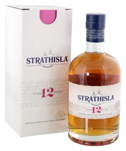 Strathisla 12 Years Pure Highland Malt Scotch Whisky 40% Vol.  (700 ml) - 5000299603376