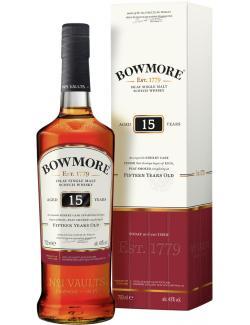 Bowmore Darkest Islay Single Malt Scotch Whisky 15 years  (700 ml) - 5010496020821