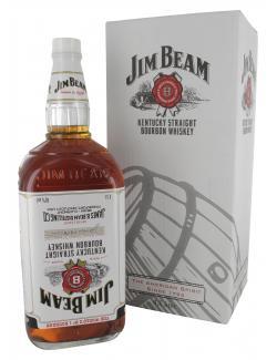 Jim Beam White Bourbon Wkiskey  (4,50 l) - 5010196092135