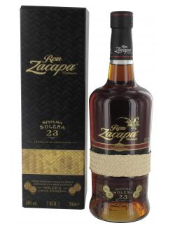 Ron Zacapa Centenario 23 Anos Solera Reserve Rum  (700 ml) - 7401005004506