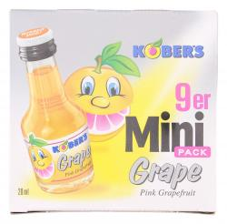 Kobers Grape Pink Grapefruit  (9 x 0,02 l) - 4105010013494