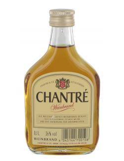 Chantr� Weinbrand Kleinflasche  (100 ml) - 4001497311408