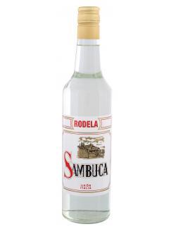 Rodela Sambuca  (700 ml) - 4007988050320