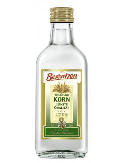 Berentzen Traditionskorn 1,40 EUR/100 ml 162004