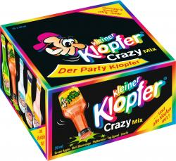 Kleiner Klopfer Crazy Mix  (25 x 0,02 l) - 4029884011281