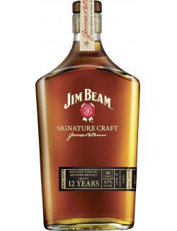 Jim Beam Signature Craft Bourbon Whiskey  (700 ml) - 4072500012322