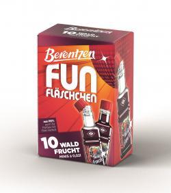 Berentzen Fun Fl�schchen Waldfrucht  (10 x 0,02 l) - 4041500245085