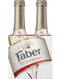 Faber Krönung Sekt halbtrocken  (2 x 0,20 l) - 4006509012809