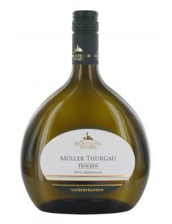 Becksteiner Winzer M�ller Thurgau trocken  (750 ml) - 4101580010048