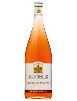 Jechtinger Sp�tburgunder Wei�herbst halbtrocken  (1 l) - 4006861900202