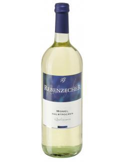 Rebenzecher Mosel Weißwein halbtrocken  (1 l) - 4001976013205