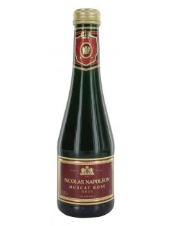 Nicolas Napoléon Muscat Rosé  (200 ml) - 4008657140144