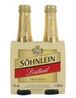 Söhnlein Brillant trocken  (2 x 0,20 l) - 4000368100417