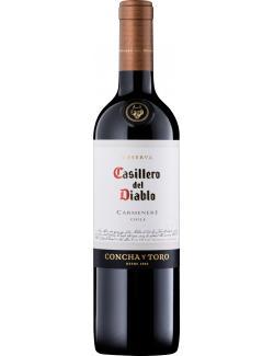 Concha y Toro Casillero del Diabolo Carmenere Rotwein trocken  (750 ml) - 7804320087016