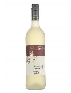 Weinhaus Flick Sp�tburgunder Blanc De Noir feinherb  (750 ml) - 4006741001203