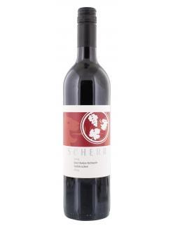Scherr Dornfelder Rotwein halbtrocken  (750 ml) - 4260462270649