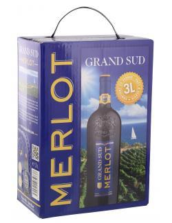 Grand Sud Merlot  (3 l) - 3500610032738