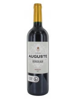 Château Auguste Bordeaux Merlot trocken  (750 ml) - 3770000406313