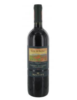 Col Di Sasso Banfi  Cabernet Sauvignon & Sangiovese  (750 ml) - 8015674830763