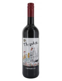Wein- und Sektkellerei Ostrau Tapaz Tempranillo Rotwein halbtrocken  (750 ml) - 4007988036867