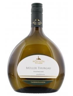 Becksteiner Winzer M�ller Thurgau Wei�wein halbtrocken  (750 ml) - 4101580010017