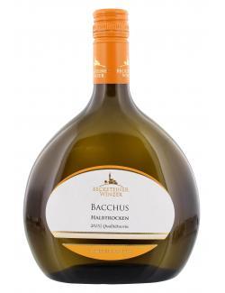 Becksteiner Winzer Bacchus Wei�wein halbtrocken  (750 ml) - 4101580010215