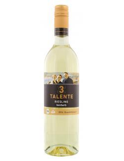 3 Talente Riesling Wei�wein feinherb  (750 ml) - 4006975184185