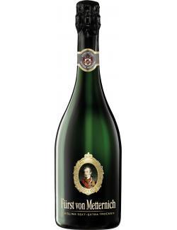 F�rst von Metternich Riesling Sekt extra trocken  (750 ml) - 4003310113602