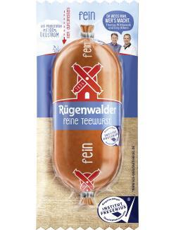 R�genwalder M�hle Teewurst fein  (125 g) - 4000405003602