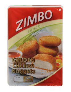 Zimbo Snack Golden Chicken Nuggets  (250 g) - 4063500005148