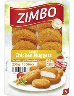 Zimbo Golden Chicken Nuggets  (250 g) - 4063500005148