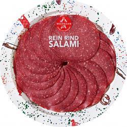 Wiltmann Rein Rind Salami  (80 g) - 4001956212413