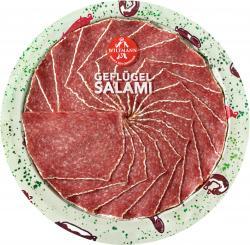 Wiltmann Gefl�gel Salami mit K�se  (80 g) - 4001956212215