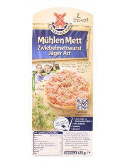 Rügenwalder Mühlen Mett Zwiebelmettwurst Jäger Art  (125 g) - 4000405003039